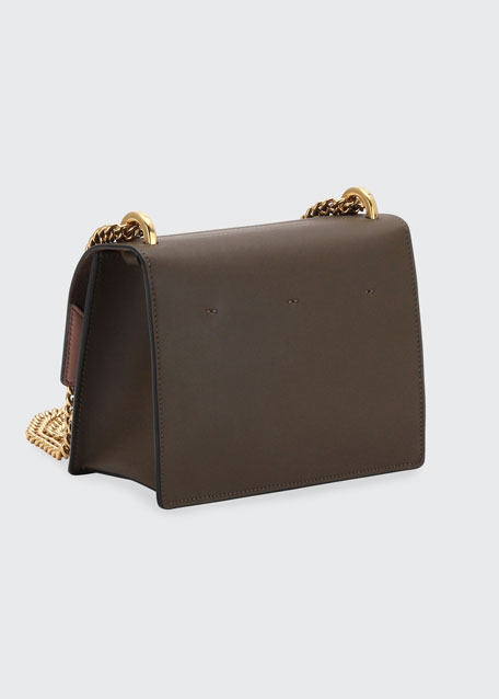 Kan U Small Matte Grace Leather Crossbody Bag