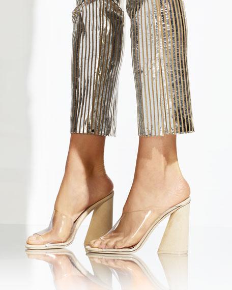 Kuri Transparent Slide Sandals