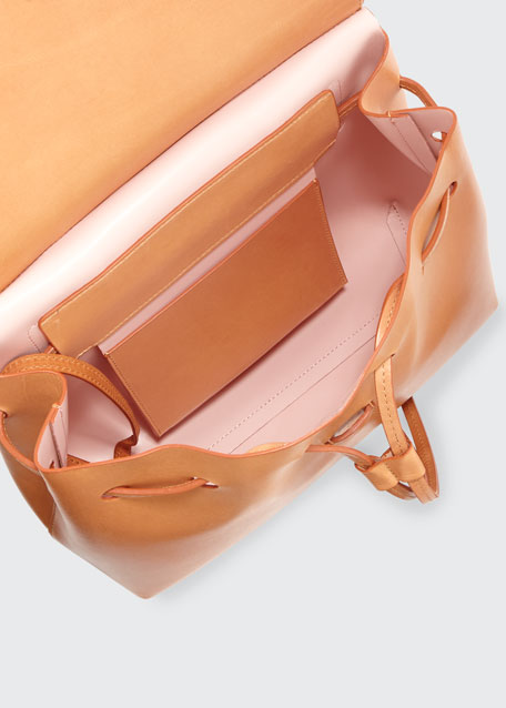 Vegetable-Tanned Leather Lady Bag