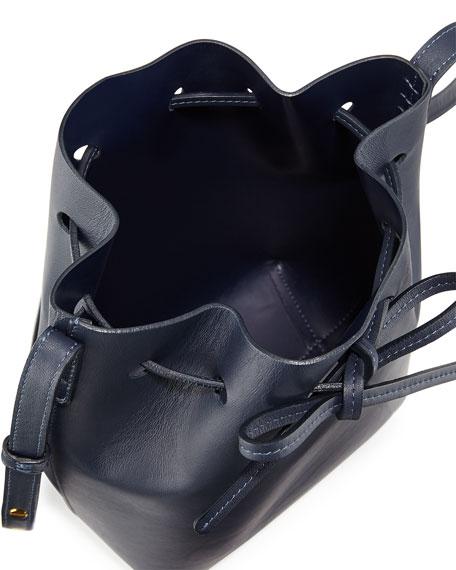 Calf Leather Mini Bucket Bag