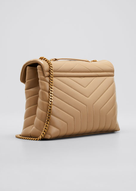 Loulou Medium Calf Flap-Top Shoulder Bag