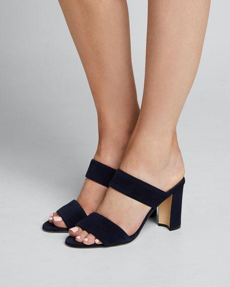 Kalita Suede Slide Sandals