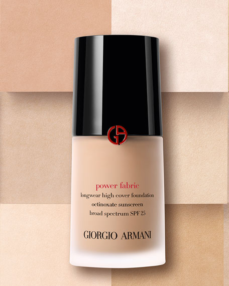 Power Fabric Longwear High Cover Foundation with SPF 25