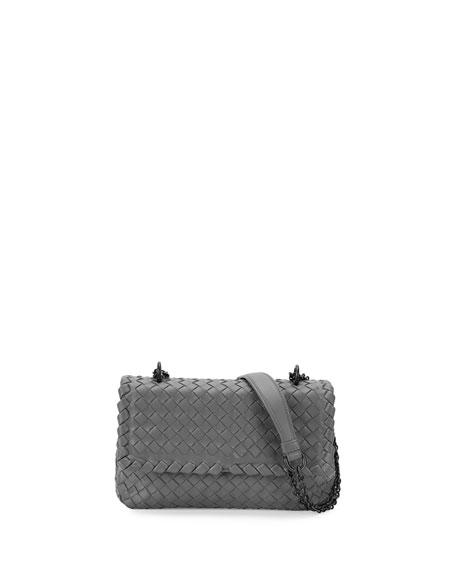 0508cd1f8c Bottega Veneta Olimpia Mini Intrecciato Crossbody Bag