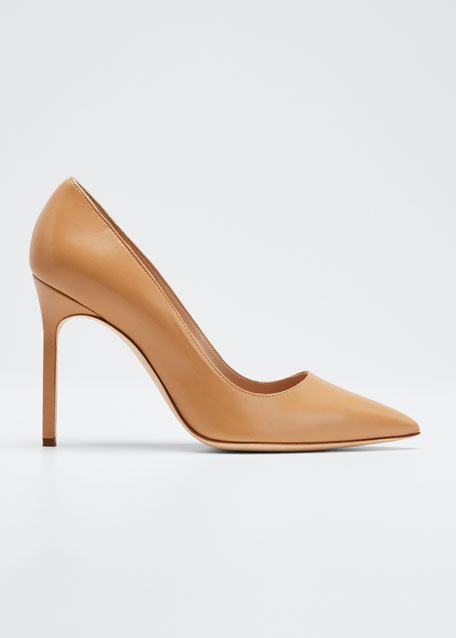BB Leather 105mm Pumps