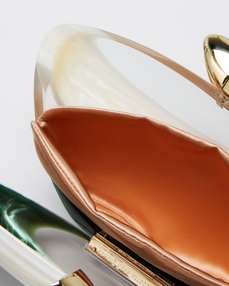 Armonia Small Smooth Clutch Bag