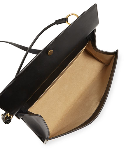 Whip Large Smooth Leather Shoulder Bag