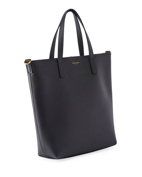7f61bed5e4f Saint Laurent Toy Leather Tote Bag with Shoulder Strap