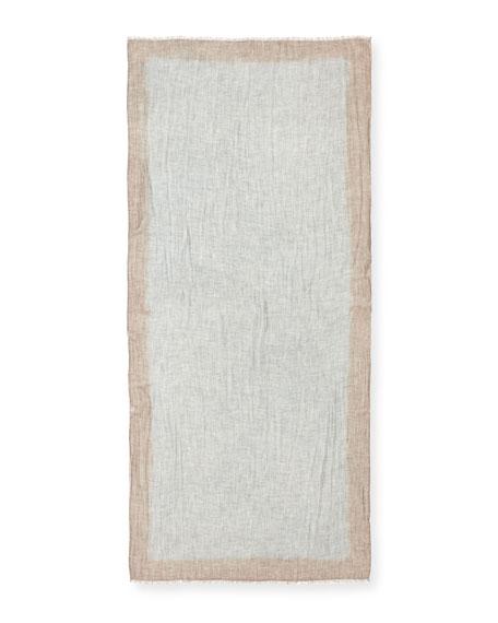 Wool-Blend Lightweight Scarf