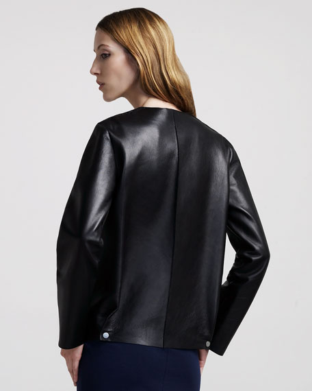Double-Face Leather Jacket