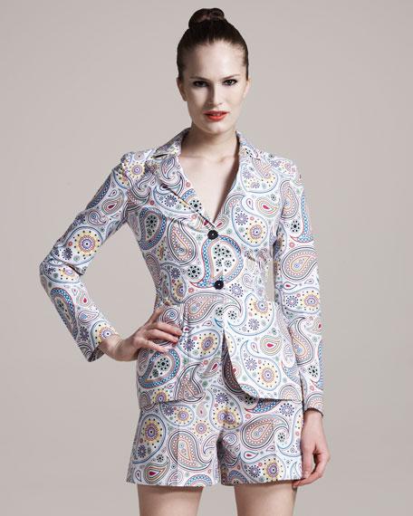 Paisley-Print Jacket