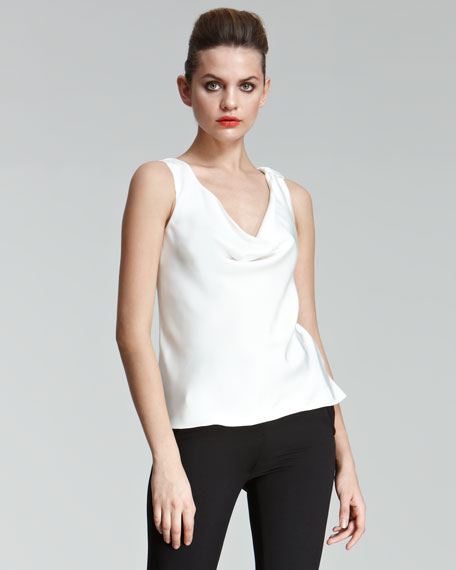 Cowl-Neck Shell