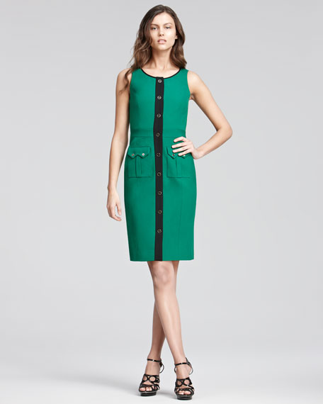 Button-Front Dress