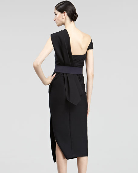 Asymmetric Body Dress
