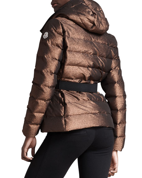 BG 111th Anniversary Metallic Puffer Jacket