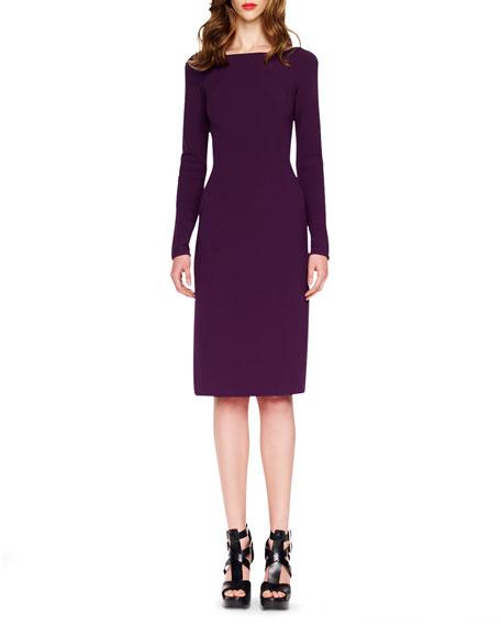 Slim Crepe Dress