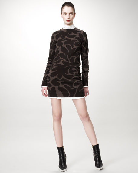 Damask Sweaterdress