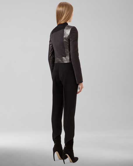 Pleated-Front Pants