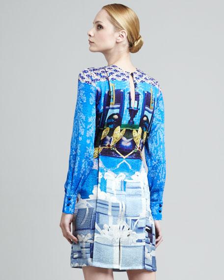 Axel Sphinx Printed Dress