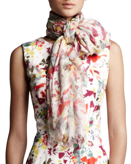 Lovers Print Scarf
