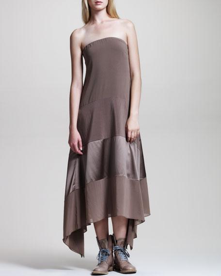Strapless Trapeze Dress