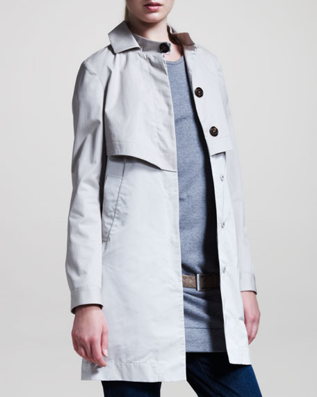 A-Line Trench Jacket