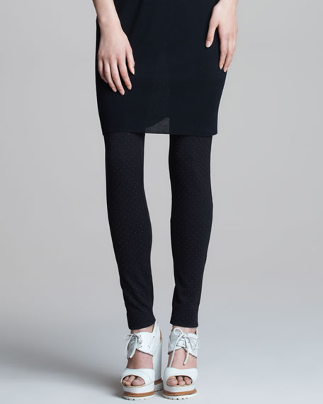Melange Jersey Leggings