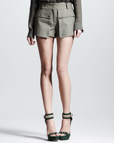 Everly Colonial Mercerized Shorts