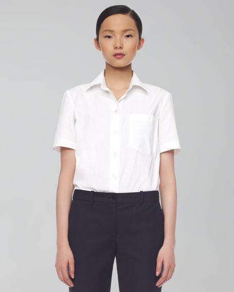 Poplin T-Shirt Blouse