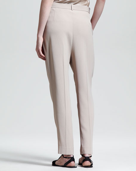 Pleated Suit Pants