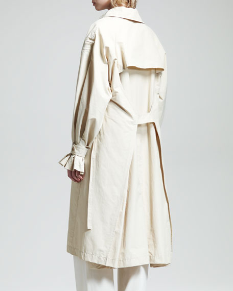Stretch-Cotton Trenchcoat
