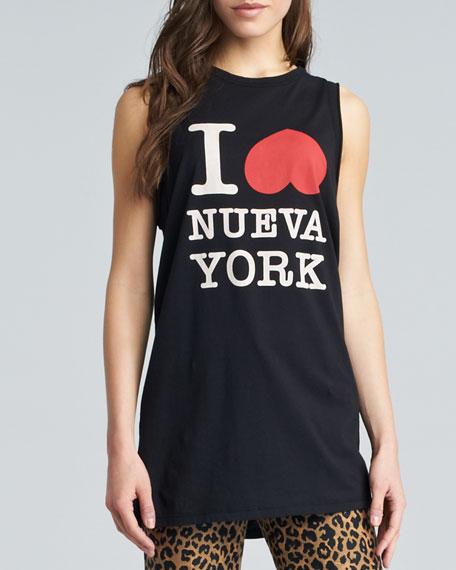 I Heart NY Muscle Tank, Black