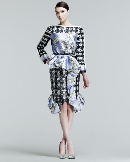 Lara Cascade Tulip Skirt