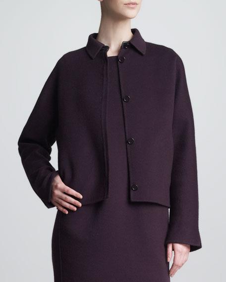 Lennie Cashmere Cropped Jacket