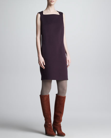 Cristyn Cashmere Sleeveless Dress