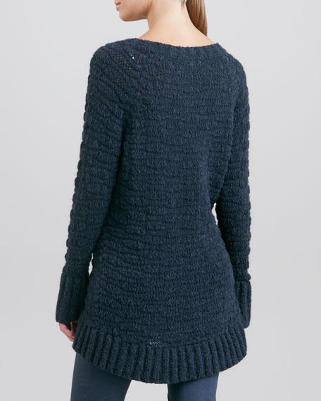 A-Line Sweater, Slate Blue
