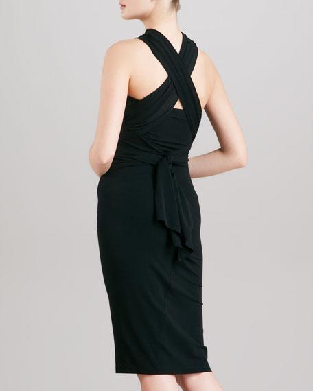 Jersey Infinity Dress, Black