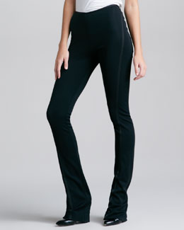 Donna Karan Fluid Crepe Body Pants IV, Black