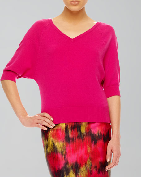 V-Neck Cashmere Top