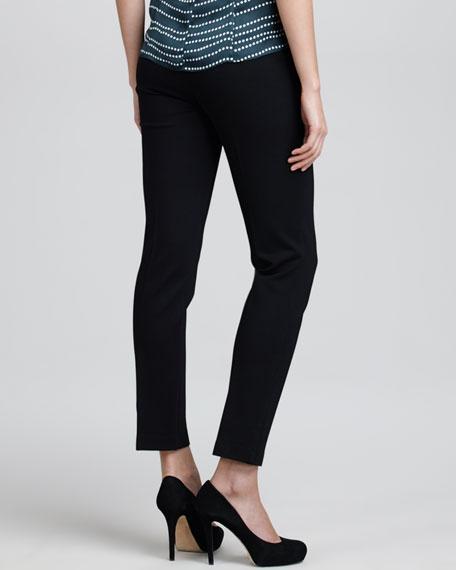 Cropped Pants, Black