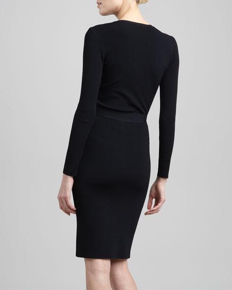 Tubino Pencil Skirt, Nero