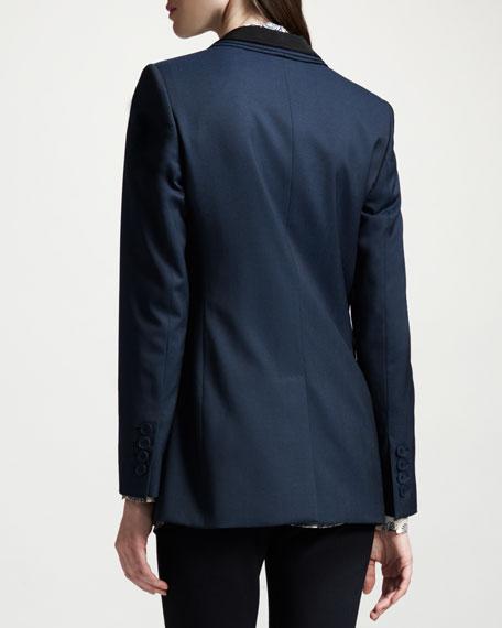 Layer-Collar Blazer