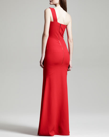 Azul One-Shoulder Gown