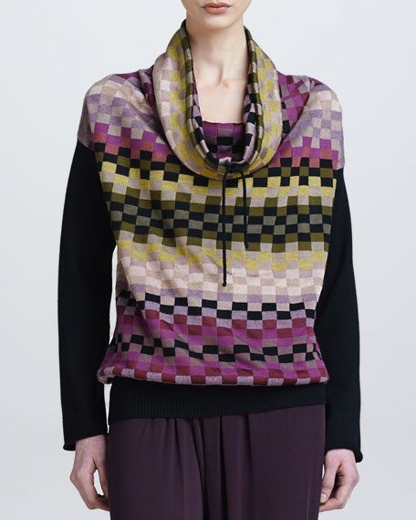 Cowl-Neck Sweater