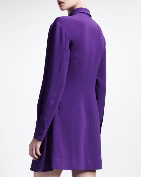 Circle-Skirt Shirtdress