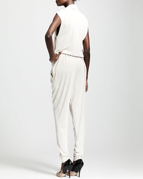 Draped Jumpsuit, Coquille