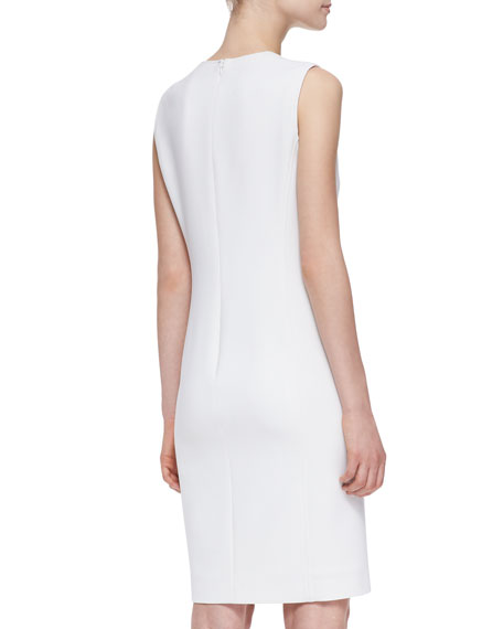 Danielle Notch-Neck Sheath Dress