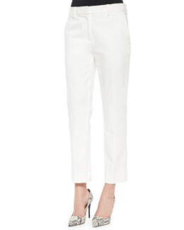 Classic Pencil Pants, Antique White