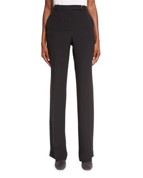 Lawrence Silk Wide-Leg Pants