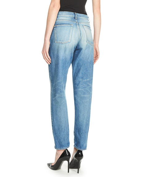 Denim Boyfriend Jeans, Blue